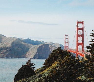 Gold Gate Bridge Presidio Heights San Francisco